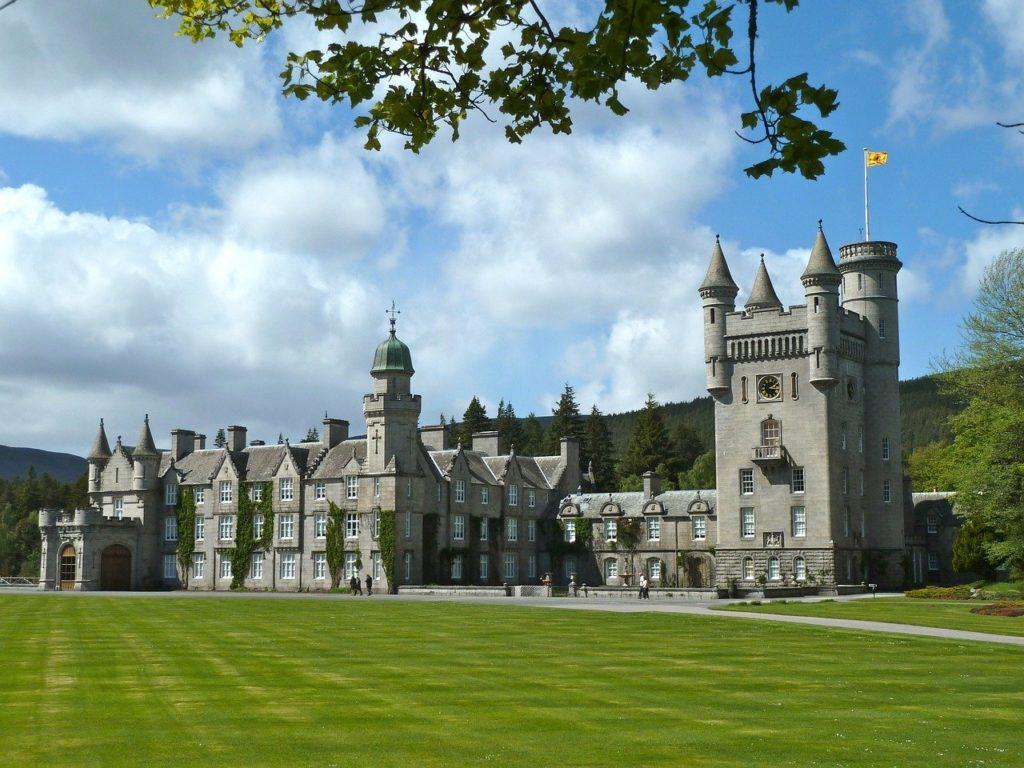 Balmoral Castle Cairngorms Scotland