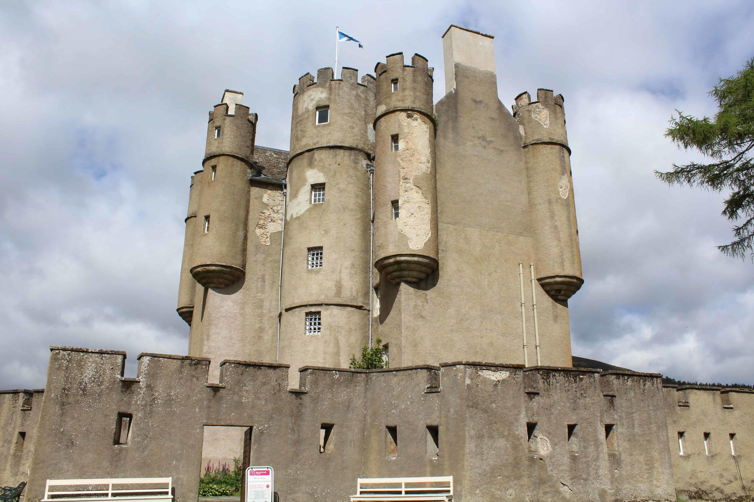 Braemer Castle Cairngorms Scotland
