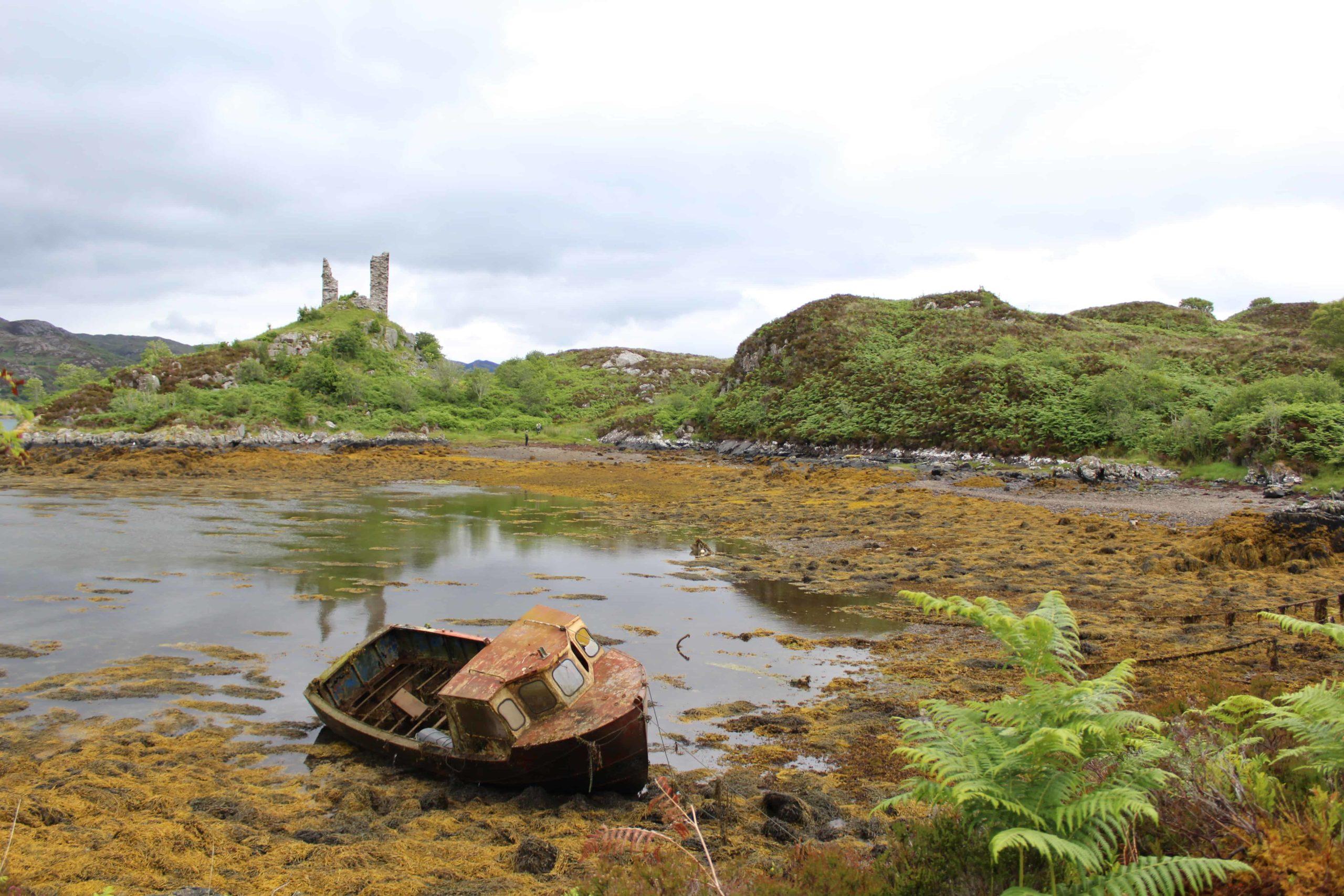Castle Moil Isle of Skye Scotland