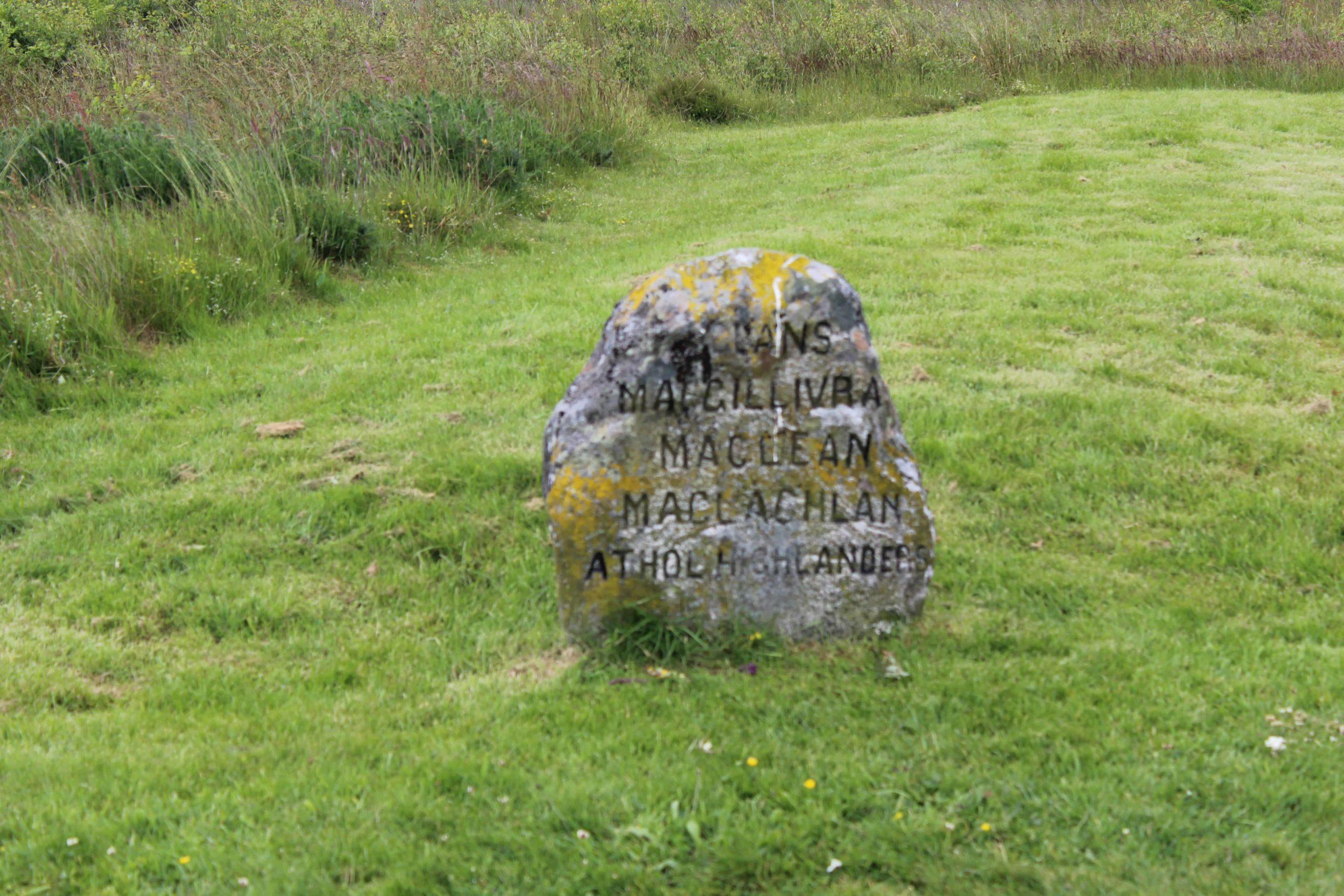 Culloden Battlefield Highlands Scotland