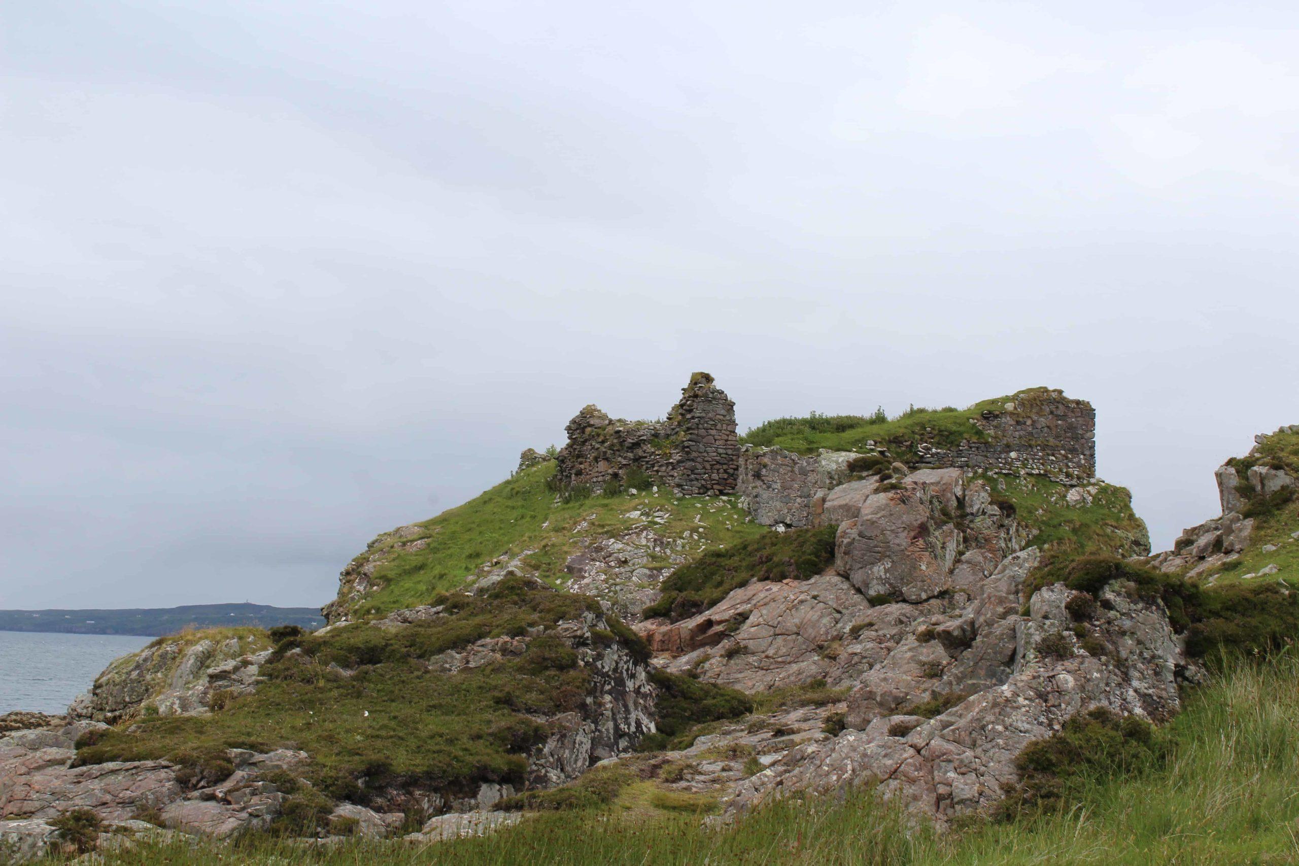 Dunscaith Castle Isle of Skye Scotland