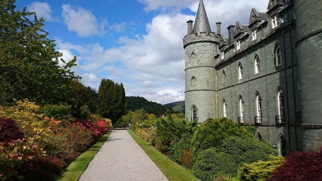 Inveraray Castle Downton Abbey Scotland