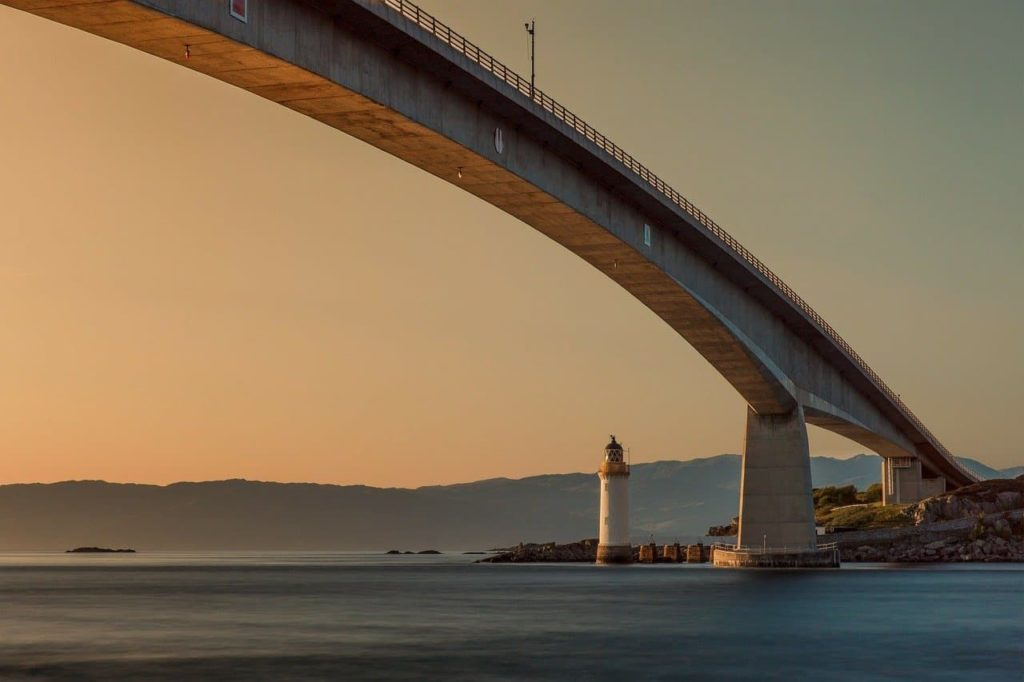 Isle of Skye bridge Scotland