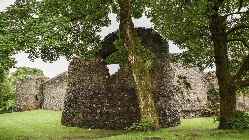 Fort William Old Inverlochy Castle Scotland