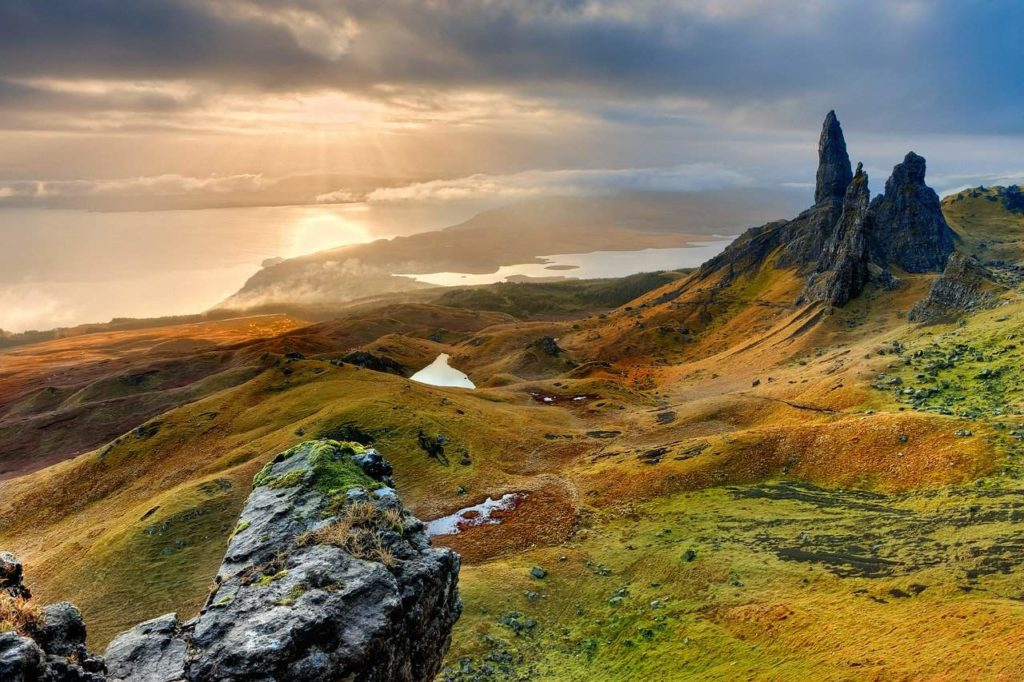old man of storr Isle of Skye Scotland