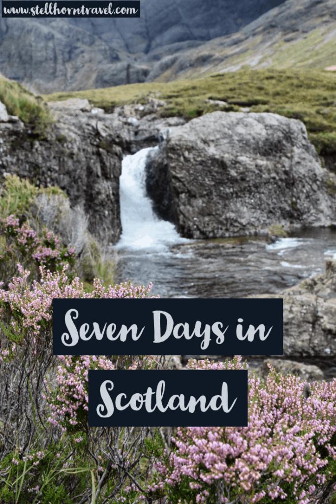 Scotland Isle of Skye Highlands