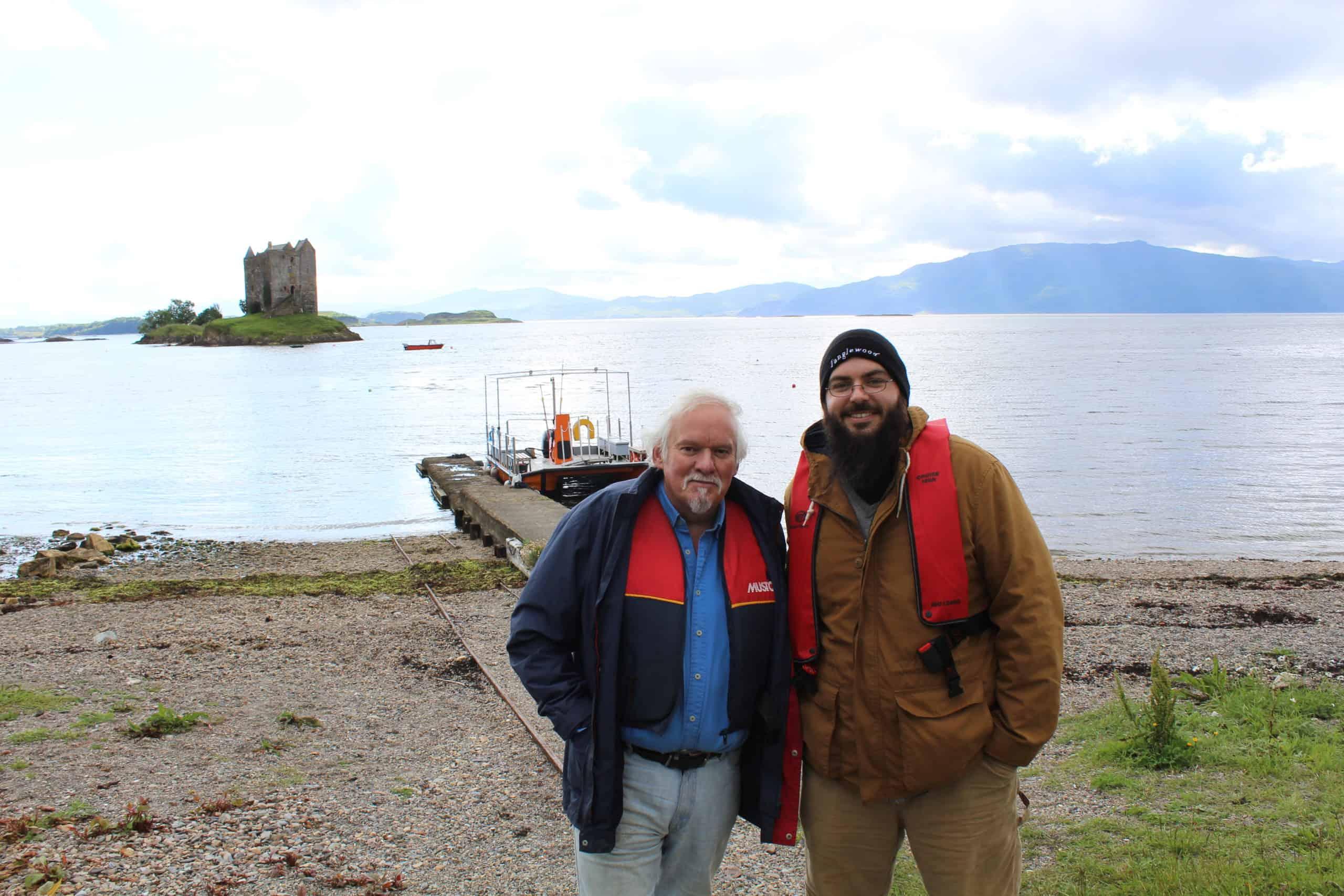 Stalker Castle Monty Python Scotland